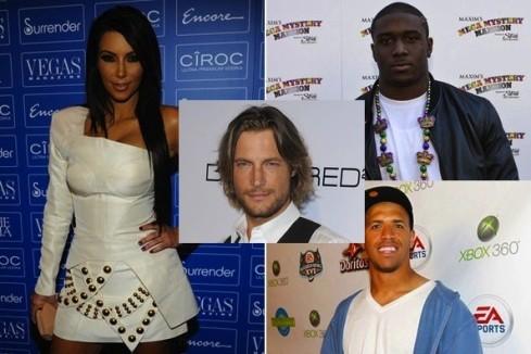 Kim-Kardashian-Reggie-Bush- Miles-Austin-Gabriel-Aubry