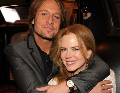 A surprise to the rest of the world, for Nicole Kidman and Keith Urban the
