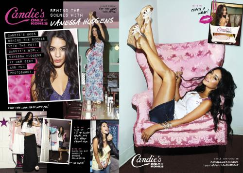 vanessa hudgens candies 2011