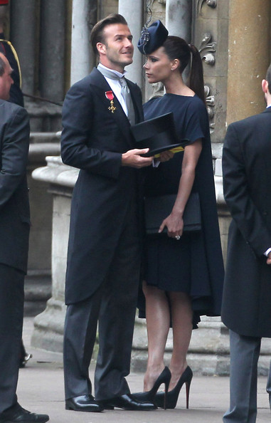 victoria beckham royal wedding. David-Victoria-Beckham-Arrive-