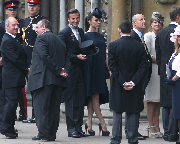 victoria beckham at royal wedding. David-Victoria-Beckham-Arrive-