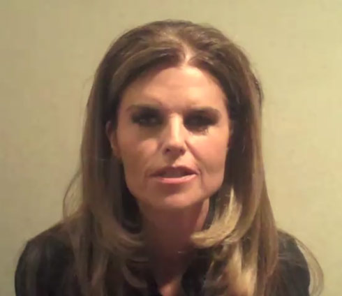 maria shriver. Maria Shriver is breaking her