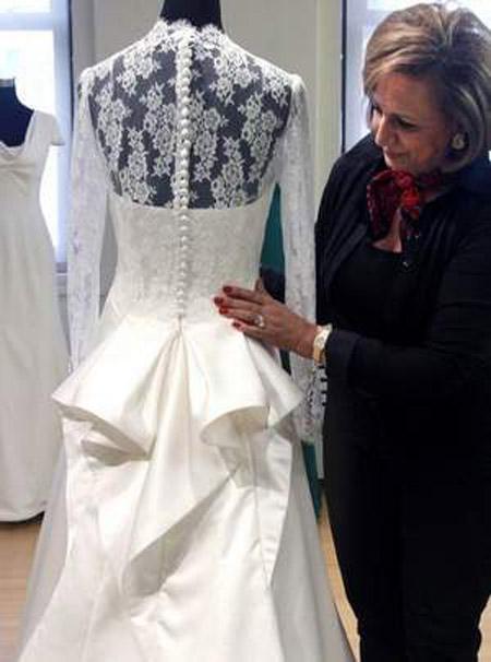 Bridal fashion shala moradi bridal designer copys royal for Knock off kate middleton wedding dress