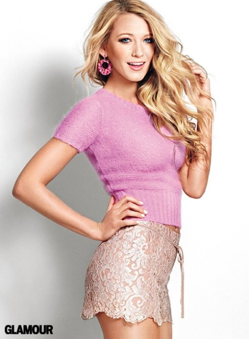 Actress Blake Lively Cover Shoot For Glamour Magazine 2011 ...
