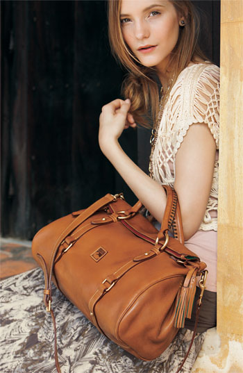 Dooney & Bourke 'Florentine' Vachetta Leather Satchel