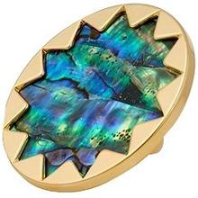 Abalone-Gold-Sunburst-CocktailA-Ring