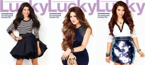 Kardashian-sisters-Lucky-Magazine-2011