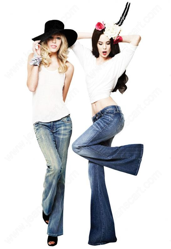 Womens-Flare-Jeans